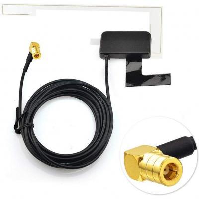 Eightwood DAB+ Antenna SMB DAB Antenna Digtial cavo autoradio