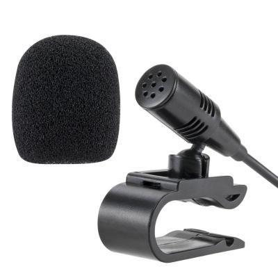Lling (TM) 3.5 mm microfono esterno mic per auto unità di assemblaggio abilitati Bluetooth stereo radio GPS DVD