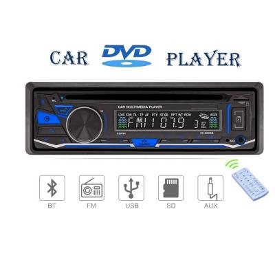 Lling (TM) lettore audio DVD  CD per auto 12V vivavoce Bluetooth lettore MP3 supporto microfono esterno supporto radio FM  AM  RDS  funzione AUX, funzione USB  SD