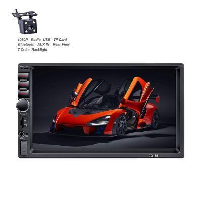 X-REAKO Car Radio 2 DIN Autoradio Car Stereo 7 pollici HD Touch Screen Bluetooth Manos Libres Radio FM USB AUX IN Mirror Link