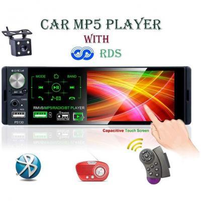 LSLYA Car Radio autoradio 1 DIN MP5 Player 4.1 pollici Touch Screen