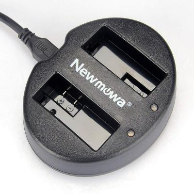 Newmowa Dual USB Charger for Canon LP-E8 and Canon EOS 550D