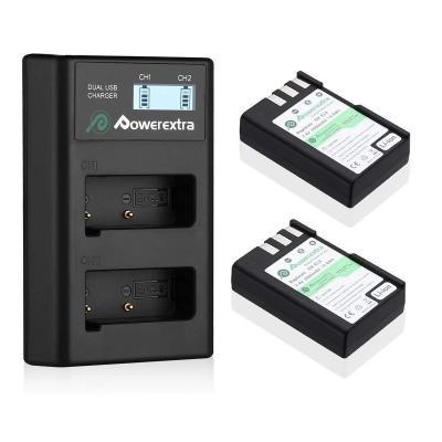 Powerextra Nikon EN-EL9-2 batterie di ricambio