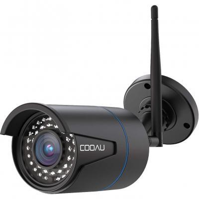 COOAU Telecamera 1080P HD IP Camera Wifi Wireless Videosorveglianza Esterno Telecamera di Sicurezza