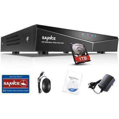 Sannce Tvi 1080p Lite 16 Canali Network Digital Video Recorder Video Sorveglianza Videoregistratore Cctv