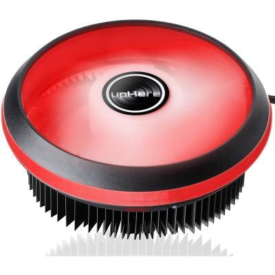 UpHere Ventole del Sistema di Raffreddamento PWM Red LED CPU Radiatore Rosso