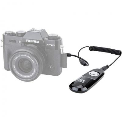 JJC, Cavo di Scatto e Telecomando per Scatto Remoto, per Fotocamera Fujifilm X-T3 X-T2 X-T1 X-H1 X-T20 X-T100 XF10 X-A5 X100F XF10 etc. Sostituzione Fuji RR-100