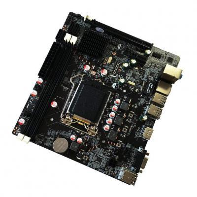 Oyamihin Scheda Madre Scheda Madre Professionale H61 Scheda Madre Mainboard 1155 Aggiornamento interfaccia USB2.0 VGA DDR3 1600 1333