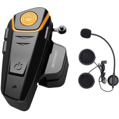 Interfono Moto Bluetooth ENCHICAS BT-S2 1000M Auricolari Bluetooth Casco Moto