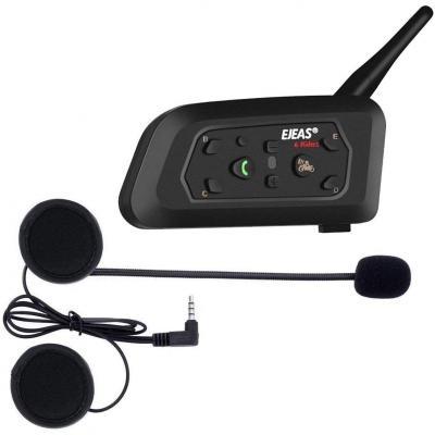 Ejeas V6 Pro Interfono Casco Bluetooth