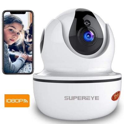 Supereye Telecamera Sorveglianza Wifi 1080P Telecamere IP Camera Wifi Wireless Interno
