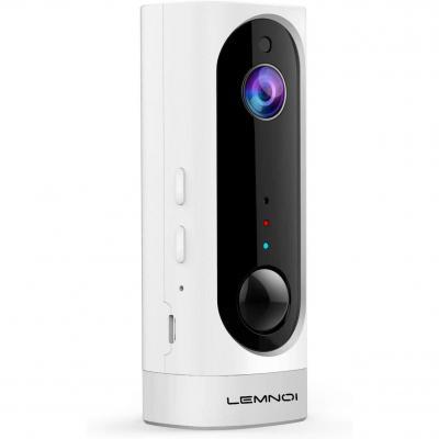 Lemnoi Telecamera di Videosorveglianza Batteria Wifi senza Fili