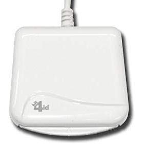 NUOVO versione 2021!! Bit4id miniLector EVO Indoor USB 2.0 White smart card reader