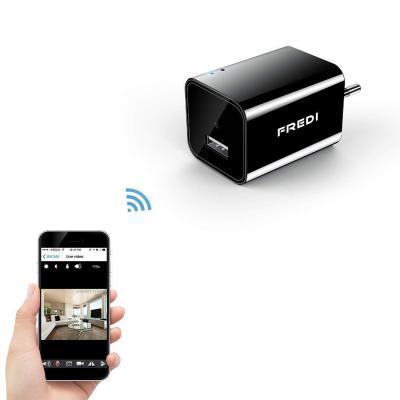 FREDI 1080P WIFI telecamera HD 128G adattatore caricatore
