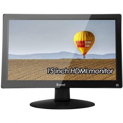 EYOYO 15.6 IPS LCD HD Monitor Display 1920x1080 Video Colori Display Audio 178 Angolo di Visione