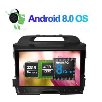 9 pollici Octa Core 4G+32G In Dash Autoradio Lettore multimediale Navigatore GPS