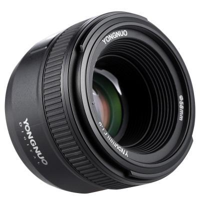 Yongnuo YN50 mm F1.8 grande apertura automatico AF FX DX Full Frame obiettivo