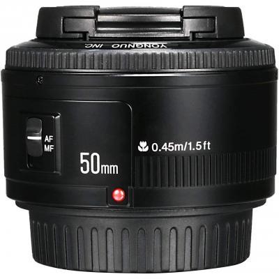 Yongnuo YN 50mm F 1.8 AF MF Large Aperture Auto Focus Lens Per Canon EF Mount EOS Camera LF651