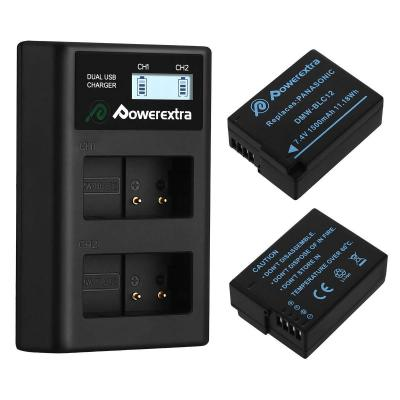Powerextra Panasonic DMW-BLC12 2