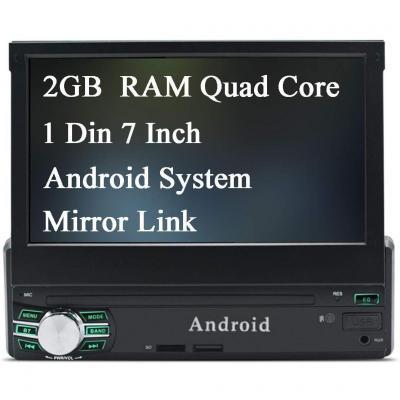 Panlelo PA1011 Plus 2 Din Android 8.1 Car Stereo 2GB RAM 32GB ROM Auto Radio AM FM RDS Navigazione GPS BT Mirror Link Supporto lettore multimediale Controllo del volante AV Out poggiatesta