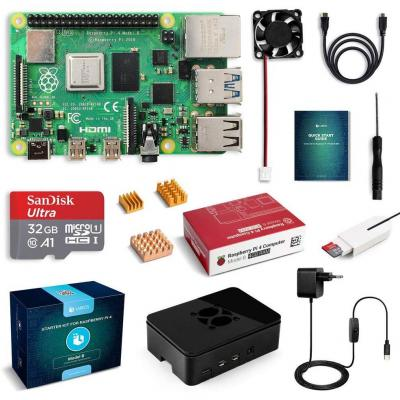 LABISTS Raspberry Pi 4 Model B 4GB RAM Starter Kit