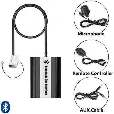 Bluetooth USB AUX musica adattatore