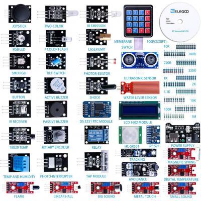 Elegoo 37-in-1 Kit Modulo Sensore Elettronici V2.0