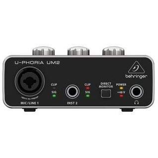 Behringer U-PHORIA UM2 2 x 2 interfacce audio USB 2.0