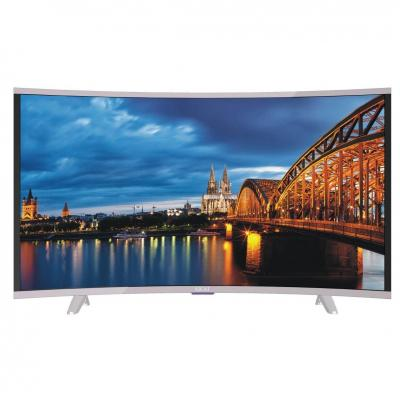 AKAI CTV400 Televisore Curvo 39 Pollici TV LED FHD DVB-T2 HDMI                                                                                                       Classe di efficienza energetica A+