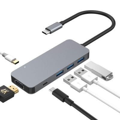 Hub USB C 6 in 1