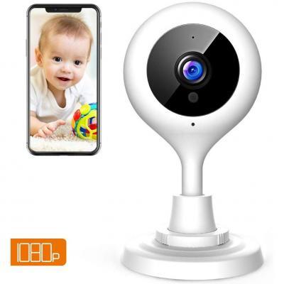 Apeman 1080P Telecamera di Sorveglianza WiFi Interno