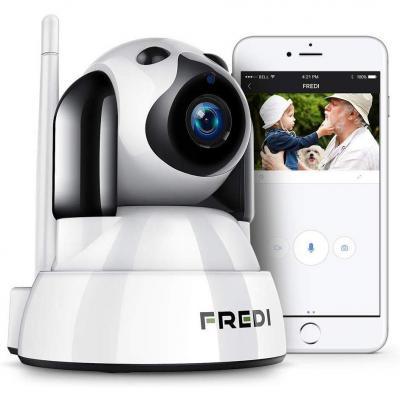 FREDI 1080P Telecamera di Sorveglianza Wifi Wireless Camera Interno Telecamera wi-fi senza fill