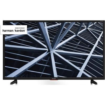Sharp AQUOS TV 32 HD suono Harman Kardon SAT 3xHDMI 2xUSB uscite cuffie scart