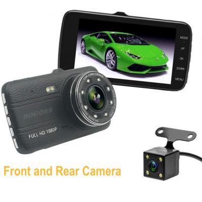 Auto fotocamera 1080p Full HD Dual Lens vehicle 10